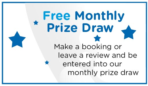 Enter Our Monthhly Prize Draw